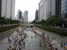 Cheonggyecheon Seul Downtown, Photo 1379