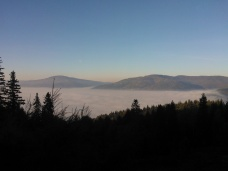 Fog & Mountains, Photo 2141