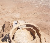 The Dead Sea and Fortress of Masada, Photo 1376
