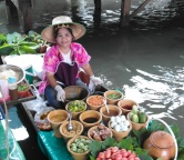 Floating markets Bangkok, Photo 2157